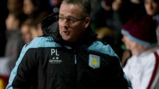Tough gig | Paul Lambert in frustrated pose at Villa Park during his side's 1-0 victory over Reading. (Image | AVFC)