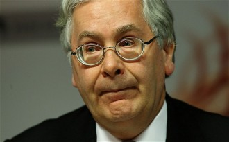 Blast | Sir Mervyn King. (Image | The Telegraph)