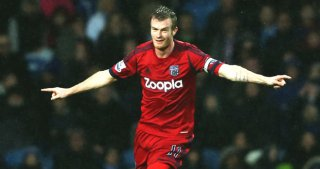 Hotshot | Winger Chris Brunt celebrates after firing West Bromwich Albion ahead. (Image | Sky Sports)