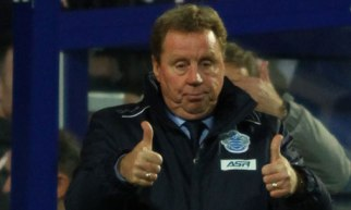 Bit by bit | Harry Redknapp is unbeaten thus far as boss of the Superhoops. (Image | The Guardian)