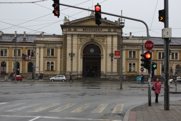 Gateway | Belgrade's railway station offers links to much of Central Europe, and even Russia. (Image | Chris King)