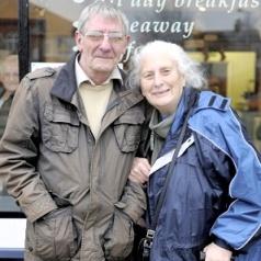 Joy   Arthur and Pat Emmett. (Image   Get Reading)