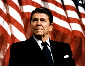 Urge | President Reagan. (Image | Tea Party Tribune)