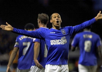 Coming back | Striker DJ Campbell is returning to QPR after a successful loan spell at Ipswich Town. (Image | EADT)