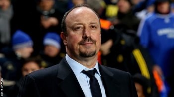 All smiles | Following a shaky start, Rafael Benitez is slowly making things happen at Chelsea. (Image | BBC)