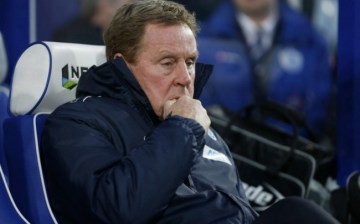 Tough gig | Rs manager Redknapp sits gloomily in the Loftus Road dugout. (Image | Metro)
