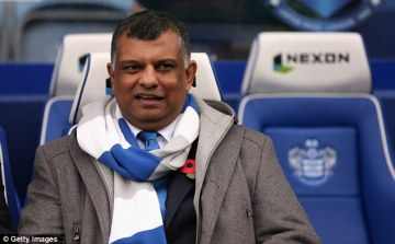 Duped | Owner Tony Fernandes has wholeheartedly backed both Mark Hughes and Harry Redknapp this season. (Image | Daily Mail)