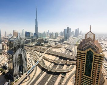 High-rise | Dubai skyline. (Image | The Sun)