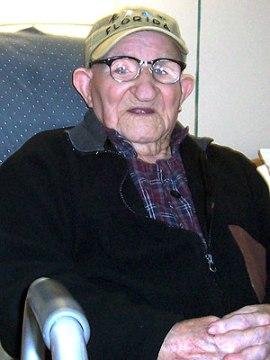 Oldest man | Salustiano Sanchez-Blazquez. (Image | People)