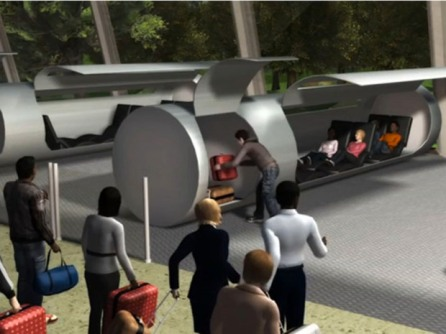 "Design | How ""hyperloop"" might look. (Image 
