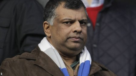 Target | Queens Park Rangers owner Tony Fernandes has faced anger from frustrated supporters. (Image | BBC)
