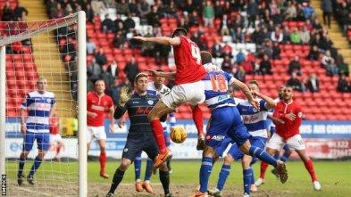 Killer blow | Charlton Athletic midfielder Johnnie Jackson nets a last-minute winner against Queens Park Rangers. (Image | BBC)