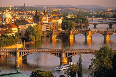 Magical | Vltava River in Prague. (Image | The Sun)