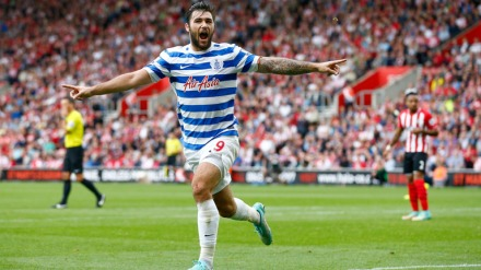 Austin maestro | Queens Park Rangers striker Charlie Austin celebrates his wonder-strike. (Image | Sky Sports)