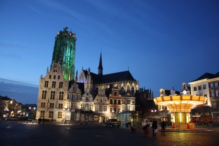 Mechelen lies between Antwerp and Brussels. (Image | Chris King)