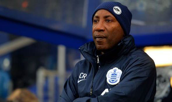 Fresh start   QPR manager Chris Ramsey has already stopped the rot away from home. (Image   Daily Express)